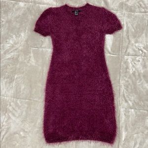 Very stretchy soft sweater dress.